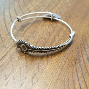 Alex and Ani bracelet- Peacock 🦚